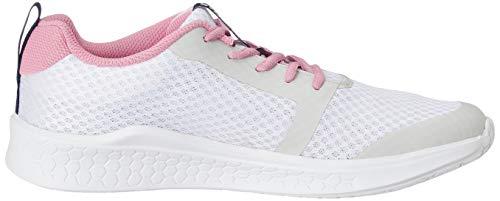 Amazon Brand - Symactive Women's White Running Shoes