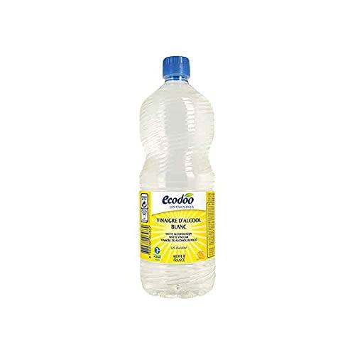 Ecodoo Vinaigre d'Alcool Blanc Ecologique, 1000 g