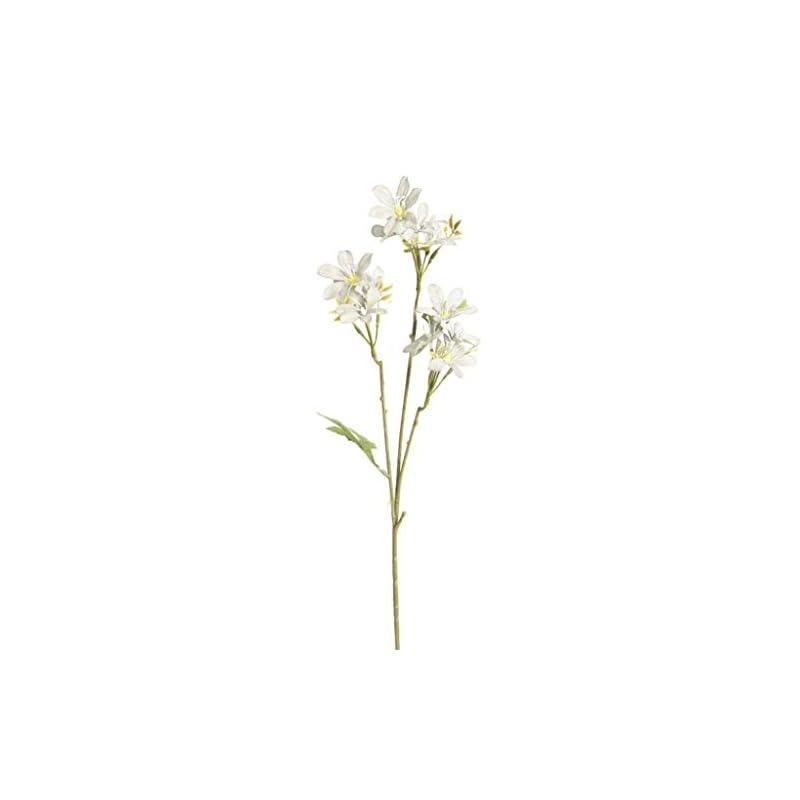 silk flower arrangements dserw artificial flower,1pc artificial flower freesia garden diy stage party home wedding craft decor - white