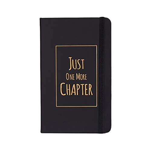 LICHUAN Diario de cuero de imitación para cuaderno temático de tapa dura Cuadrada de enrejado interior página redonda Diseño de correa de fijación