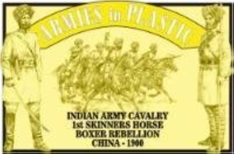 1 32 Armies in Plastic 5473 Boxer Aufstand Indien Armee Kavallerie 1. Skinners Horse