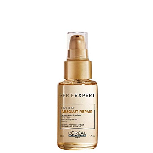 L\'Oréal Professionnel Serie Expert Absolut Repair Lipidium Serum, Bändigt krauses Haar, 1er Pack (1 x 50 ml)