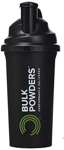 BULK POWDERS Shaker Bottle, Black, 700 ml