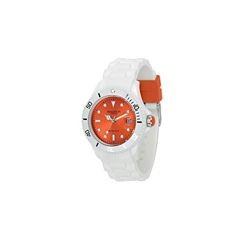 Madison U4359F1 Orologio Unisex di Candy Time di New York con la...