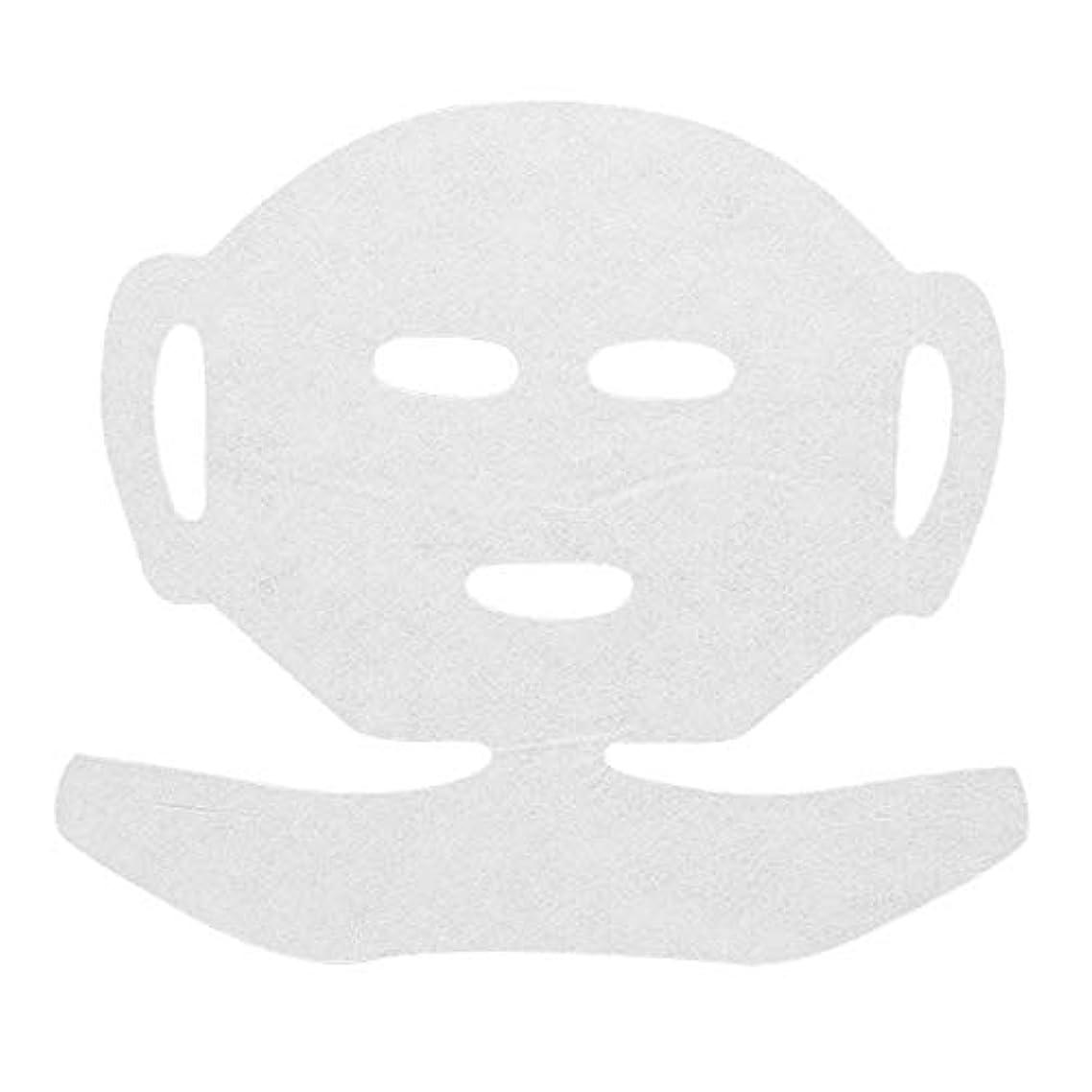 高保水 フェイシャルシート (マスクタイプネック付き 化粧水無し) 80枚 29×20cm [ フェイスマスク フェイスシート フェイスパック フェイシャルマスク シートマスク フェイシャルシート フェイシャルパック ローションマスク ローションパック ]