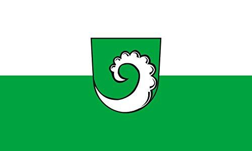 Unbekannt magFlags Tisch-Fahne/Tisch-Flagge: Gruibingen 15x25cm inkl. Tisch-Ständer