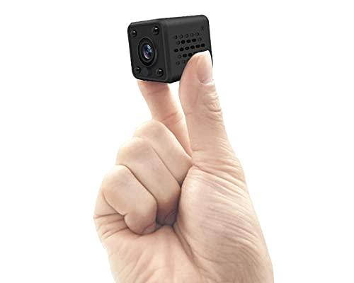 GoGo Mini Camara Espia Seguridad WiFi P2P IP FULLHD Vision Nocturna y Activacion por Movimiento