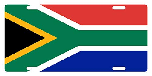 MNUT - Placa de matrícula africana #8 de 15 x 12 pulgadas