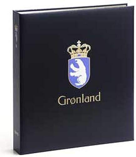 DAVO 5442 Luxus Briefmarkenalbum Grünland II