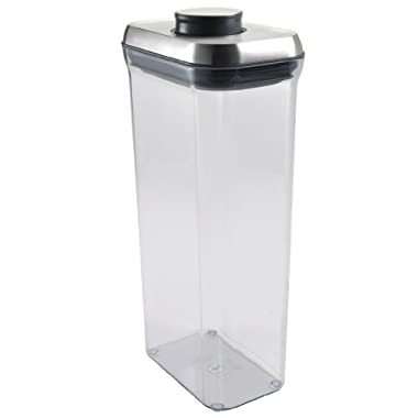 OXO SteeL Airtight POP Container -Rectangle (3.4 Qt)