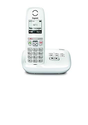 Gigaset AS470A Solo - Téléphone fixe sans fil - Répondeur - Blanc