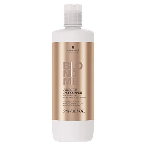 Schwarzkopf Blond Me Supreme Blonde Hair Quality Premium Care 9% 30 Vol Developer 1000ml by Schwarzkopf