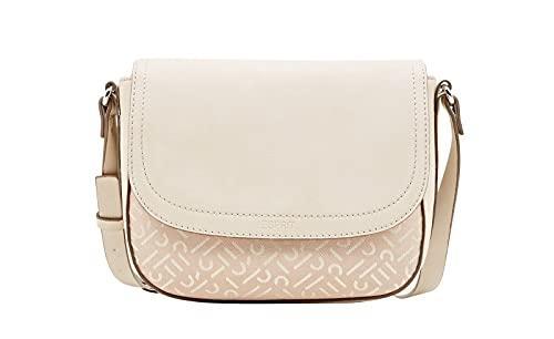 ESPRIT Damen Handtasche Tasche Schultertasche Cherry Saddlebag Beige 030EA1O322