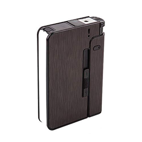 Yuan Ou Pitillera Caja de dispensador de Cigarrillos de eyección automática, Estuche para...