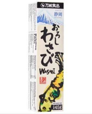 Banjo Oroshi Wasabi Tube 45 g – Mischung aus frischem Duft Hon Wasabi und stechendem Meerrettich verleiht üppigen Geschmack. Ideal für Liebhaber von starken Penisfrüchten.
