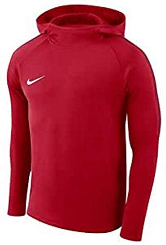 Nike M Nk Dry Acdmy18 Hoodie Po Sudadera, Hombre, University Red/Gym Red/Gym Red/(White), L