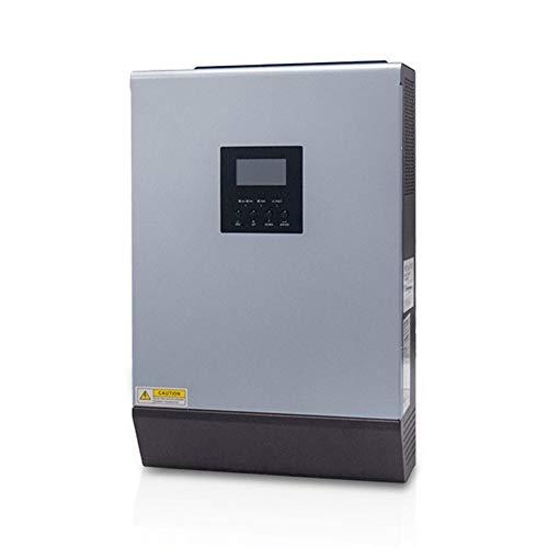 LQQ 110V Solar Wechselrichter Hybrid 3Kva 2400W Off-Grid Wechselrichter 24V 120V 80A MPPT Reiner Sinus Wechselrichter 60A AC Ladegerät
