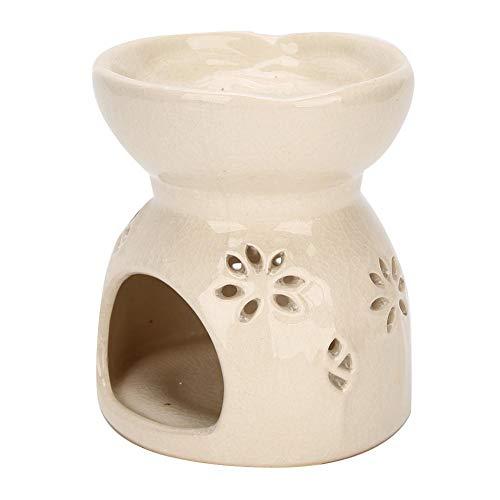 bruciatore di aroma in ceramica profumo di olio essenziale bruciatore di luce accende la decorazione della stufa di aromaterapia della candela per la camera da letto della stazione termale di yoga