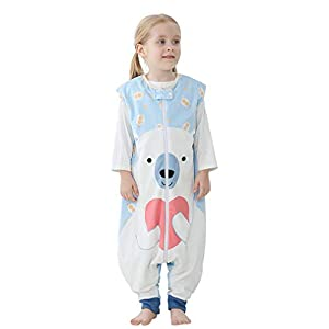 MICHLEY Baby Sleeping Bag Sack with Feet Spring Winter Swaddle Wearable Blanket for Infant Toddler