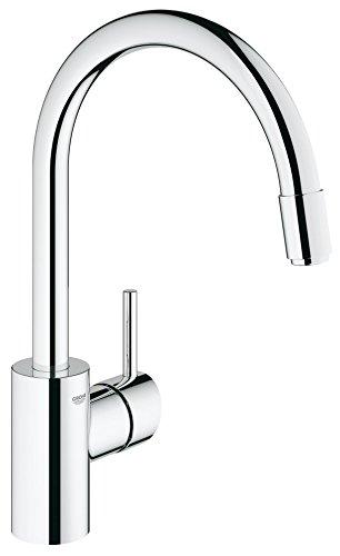 Grohe – Concetto Küchenarmatur, hoher Auslauf, Schwenkbereich 360°, Chrom - 3
