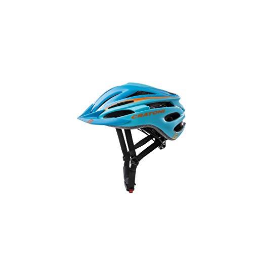 Cratoni Pacer (MTB) Casco de Bicicleta, niño, Azul, Talla única