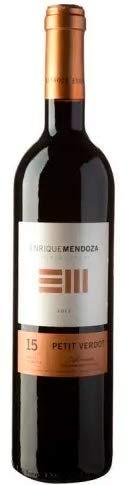 Enrique Mendoza Petit Verdot 15 meses - Vino Tinto - Pack 6 x 75 cl.