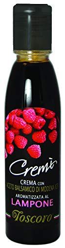 TOSCORO Crème de Vinaigre Balsamique Framboise...
