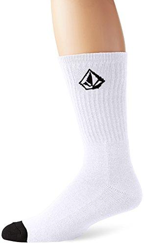 Volcom Herren Socken Full Stone, White, One Size, D6311587WHT