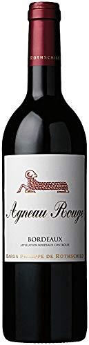 Agneau Rouge Bordeaux AOC 2018 - Baron Philippe de Rothschild | trockener Rotwein | französischer Wein aus Bordeaux | 1 x 0,75 Liter