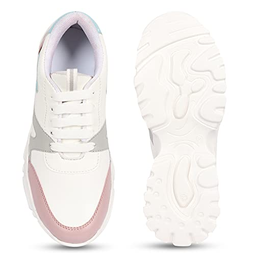 RINDAS Women's Stylish Comfortable Casual Shoes | Sneaker | Walking Shoes