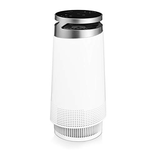 Think Best Air Purifier for Home, Smokers, Allergies, Pet Hair, True HEPA Filter, Ultra-Quiet Technology, 4-Stage Filtration. Odor, Dust, Smoke, Mold Remover with Ionizer, Multispeed Fan, Night Mode
