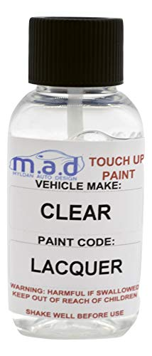 30ML CLEAR LACQUER COAT FOR CAR PAINT TOUCH UP BRUSH SCRATCH CHIP REPAI