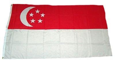 Fahne/Flagge Singapur 60 x 90 cm Fahnen