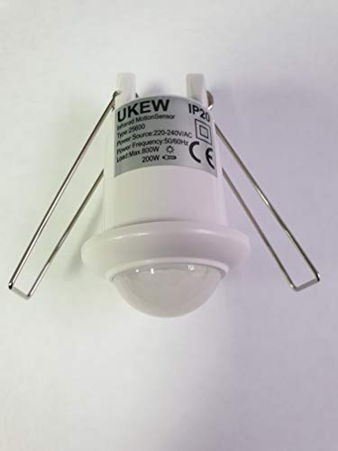 LexonElec Luz Solar 24//60 LED 450//1100 L/úmenes de aleaci/ón de aluminio recargable 6000 mAh Bttery impermeable Solar Powered Movimiento 360 /° Radar Sensor de seguridad luces para jard/ín al aire libre