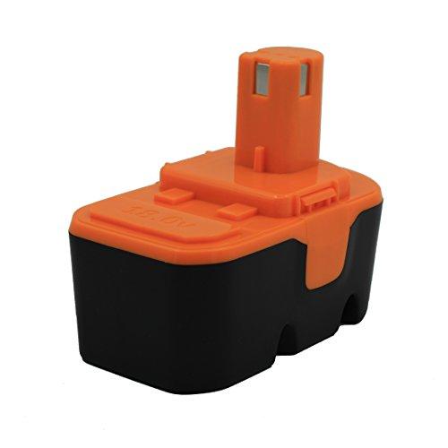 Kinon Batería de repuesto para herramienta eléctrica 18V 3.0Ah Ni-Mh para destornillador taladro inalámbrico Ryobi 130224028 ABP1801 ABP1803 BPP-1813 BPP-1815 BPP-1817 BPP-1820 BID-180L CDI-1802M