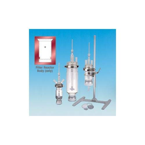 ACE GLASS 6384-27 Series Filter Reactor Body with Beauty Year-end gift products Grooved Fl Top
