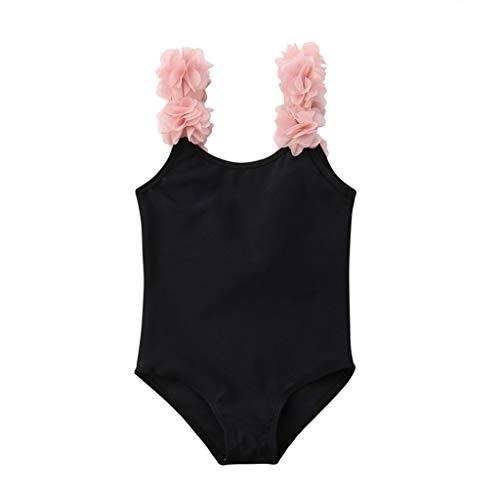 Topgrowth Costumi Da Bagno Bambina Costume Mare Bimba Fiore Costume Intero Bagnarsi Beachwear Neonata Romper Senza Schienale Swimsuit