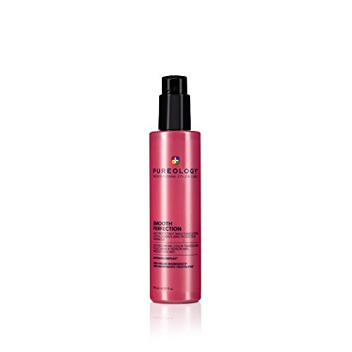 Pureology Smooth Perfection Smoothing Lotion | For Fine, to Normal, Frizzy Hair | Controls Frizz &...