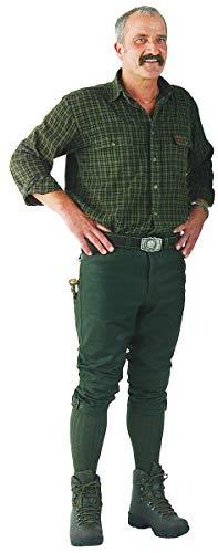 La Chasse   Lederhose aus Büffelleder (Kniebundhose) für Herren   extrem strapazierfähig   Trachtenhose   Büffellederhose   Jagdlederhose   Rindslederhose   Herrenhose   Jagdhose (110)