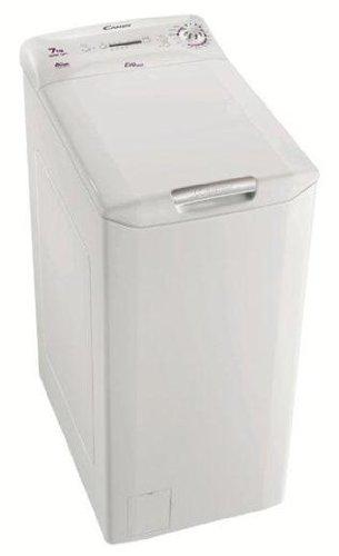 Candy EVOT 10071D-1 Libera installazione Caricamento dall'alto 7kg 1000Giri/min A+ Bianco lavatrice