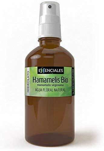 Essenciales - Agua Floral Hamamelis ECOLOGICA BIO, 100% Pura y Certificada, 200 ml | Agua de Hamamelis Virginiana