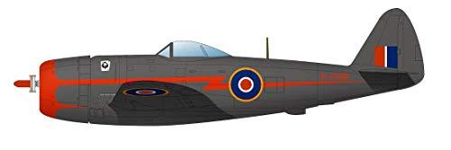 プラッツ 1/144 第二次世界大戦 イギリス空軍 戦闘機 サンダーボルト Mk.II バブルトップ 2機セット プラモデル PDR-25
