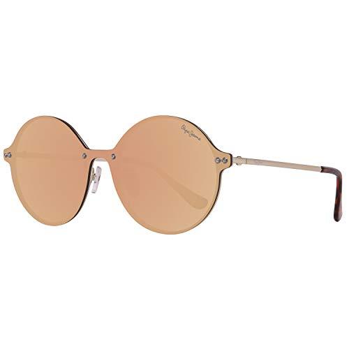Pepe Jeans PJ5135C2140 Sonnenbrille PJ5135 C2 Jessy Rund Sonnenbrille 140, Gold
