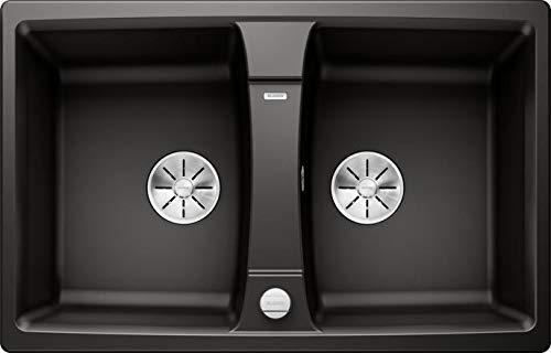 Blanco Lexa 8 Silgranit PuraDur schwarz