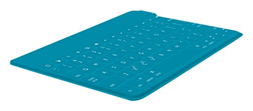Logitech Keys-To-Go Teclado Inalámbrico Bluetooth para iPhone, iPad, Apple TV, ligero, portátil, Disposición QWERTY Español, Verde
