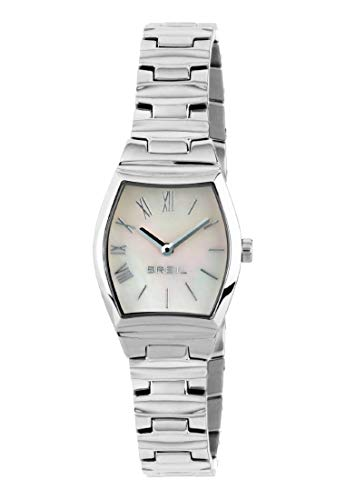 Orologio BREIL donna BARREL quadrante bianco e bracciale in acciaio, movimento SOLO TEMPO - 2H QUARZO