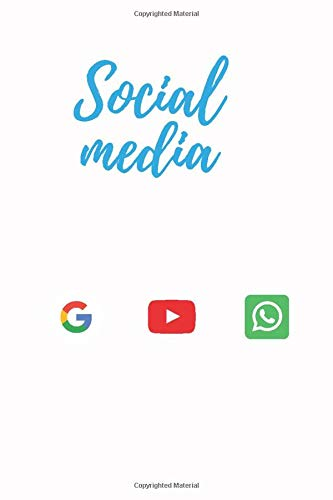 Social media notebook: journal for writing in any where 120 page  6*9
