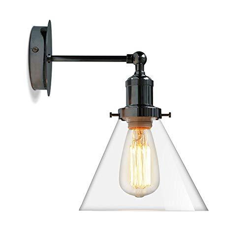 Schommel lange mouwen glazen bol wandlamp industrie LED wandlamp Up Down Loft stijl vintage wandlamp slaapkamer nachtkastlantaarn schuurverlichting, D-B