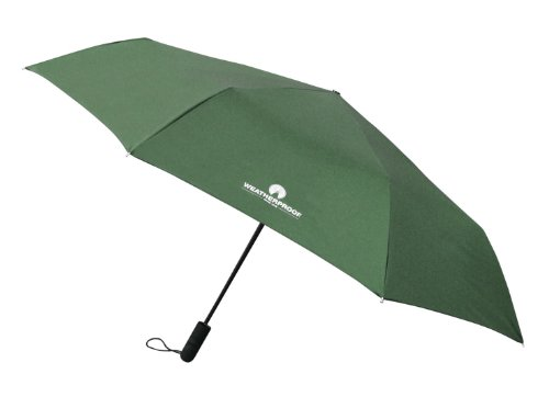 Weatherproof 56 Inch Auto Open and Close Golf Umbrella, Hunter, One Size