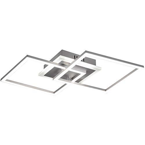 LED Design Decken Leuchte Wohn Ess Zimmer Beleuchtung Flur Lampe DIMMBAR Reality R62793187